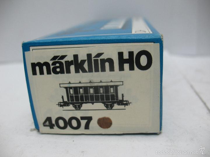 Trenes Escala: Marklin Ref: 4007 - Coche de pasajeros de la OBB 46 045 de plástico - Escala H0 - Foto 6 - 56605530