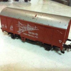 Trenes Escala: MARKLIN H0. ANTIGUO VAGON MERCANCIAS.. Lote 57220917