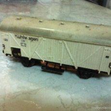 Trenes Escala: MARKLIN H0. ANTIGUO VAGON MERCANCIAS.. Lote 57220926