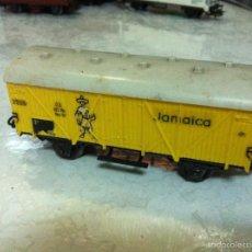 Trenes Escala: MARKLIN H0. ANTIGUO VAGON MERCANCIAS. Lote 57220968