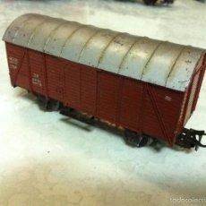 Trenes Escala: MARKLIN H0. ANTIGUO VAGON MERCANCIAS. Lote 57221010