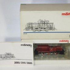 Trenes Escala: LOCOMOTORA EN METAL. MÄRKLIN. ESC H0. REF 3065. ALEMANIA. CIRCA 1980.. Lote 57359162