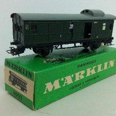 Trenes Escala: MARKLIN - ANTIGUO VAGON MARKLIN CON CAJA ORIGINAL. Lote 57737194