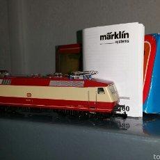 Trenes Escala: MÄRKLIN BR.120 TEE (3153) DIGITALIZADA CON 60760. Lote 58563699
