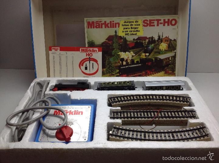 CAJA COMPLETA TREN MARKLIN SET-HO S REF.2990 (Juguetes - Trenes a Escala - Marklin H0)
