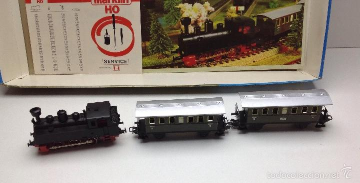 Trenes Escala: CAJA COMPLETA TREN MARKLIN SET-HO S REF.2990 - Foto 4 - 59923083