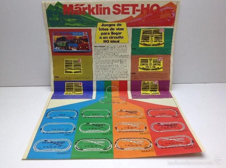 Trenes Escala: CAJA COMPLETA TREN MARKLIN SET-HO S REF.2990 - Foto 13 - 59923083