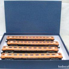 Trenes Escala: MARKLIN - 4 COCHES DE PASAJEROS BELGAS- ESCALA H0. Lote 63998371
