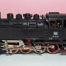 Trenes Escala: MARKLIN H0 - LOCOMOTORA DE VAPOR 3032 - DB BR 81 - DIGITAL - CON LUZ. Lote 64683463