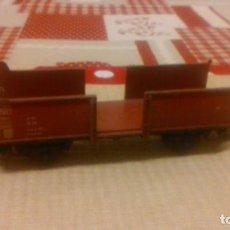 Trenes Escala: VAGON DE CARGA MARKLIN MADE IN GERMANY ,METAL. Lote 65027499