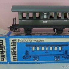 Trenes Escala: MARKLIN H0 - 4000 - VAGÓN DE PASAJEROS - CON CAJA ORIGINAL. Lote 65427239