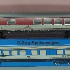 Trenes Escala: MARKLIN H0 - 4054 - VAGÓN RESTAURANTE - DB 518088-80233-6 - CON CAJA ORIGINAL. Lote 65618134