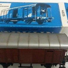 Trenes Escala: VAGÓN MARKLIN REF. 4605 ESCALA H0. Lote 67559825