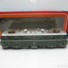 Trenes Escala: MARKLIN REF: 3050 - LOCOMOTORA ELÉCTRICA DE LA SBB CFF 11414 CORRIENTE ALTERNA - ESCALA H0. Lote 69255121