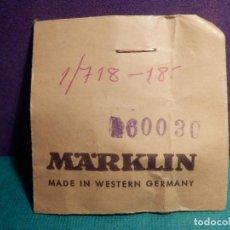 Trenes Escala: MARKLIN - REF. REFERENCIA - 60030 - REPUESTO ORIGINAL - MALLA - ESCALA H0 1:87. Lote 71127057