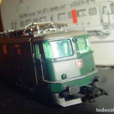 Trenes Escala: MARKLIN H0. LOCOMOTORA ELÉCTRICA SUIZA 37366. Lote 72145399