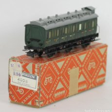 Trenes Escala: VAGON EN HOJALATA. MARKLIN. ESC H0. MADE IN GERMANY.. Lote 56297021