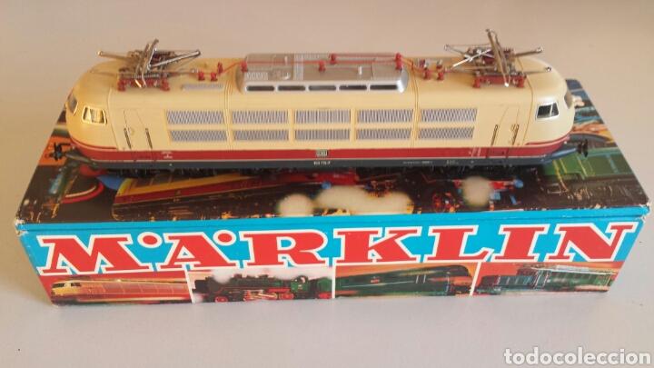 LOCOMOTORA MARKLIN 3054 H0 PERFECTA CORRIENTE ALTERNA MÄRKLIN (Juguetes - Trenes a Escala - Marklin H0)