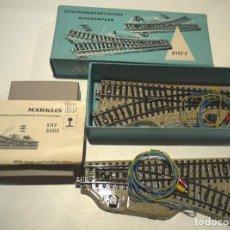 Trenes Escala: DESVIOS MARKLIN 5117 EN CAJA. Lote 106021847