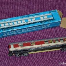 Trenes Escala: VAGON MARKLIN - REF. 4054 - METÁLICO - ESCALA H0 / HO - MADE IN WESTERN GERMANY . Lote 81840644
