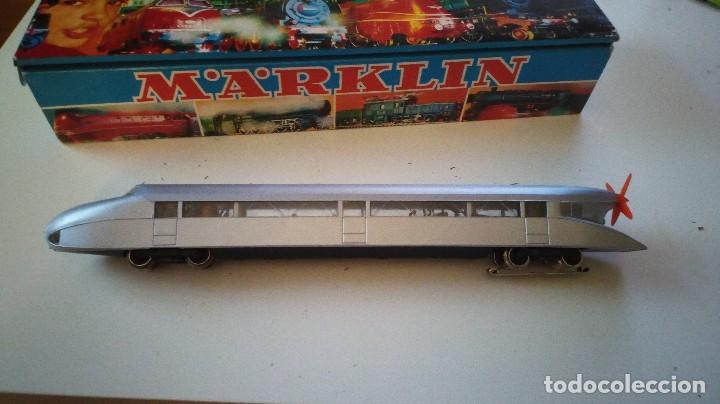 Trenes Escala: Locomotora Zeppelin MARKLIN 3077 alterna patin impecable zepelin - Foto 2 - 81938000