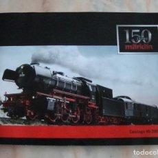 Trenes Escala: DIFICIL CATALOGO 150 ANIVERSARIO MARKLIN HO 2009 - 2010 CASTELLANO. Lote 84723284