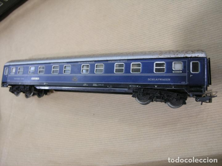Trenes Escala: VAGÓN PASAJEROS COCHE CAMA SLEEPING CAR MARKLIN - Foto 2 - 86221868