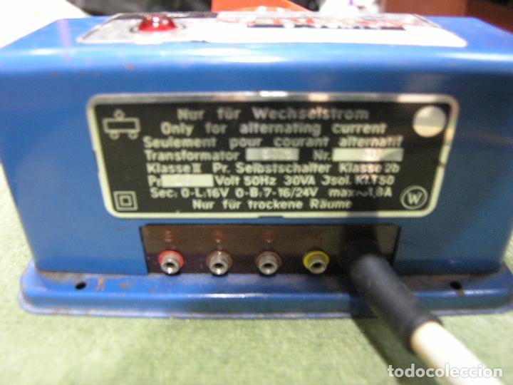 Trenes Escala: TRANSFORMADOR 30 VA MARKLIN 6115 - Foto 2 - 86228196