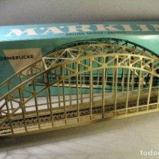 Trenes Escala: MARKLIN. #7163. ESCALA H0. PUENTE DE ARCO METÁLICO. Lote 230580520