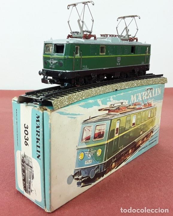 Trenes Escala: LOCOMOTORA ELÉCTRICA AUSTRÍACA EN METAL. 1141. REF 3036. MARKLIN. ALEMANIA. CIRCA 1970. - Foto 2 - 87427800