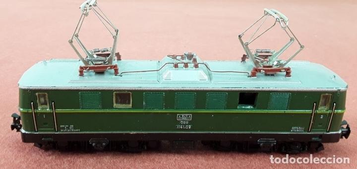 Trenes Escala: LOCOMOTORA ELÉCTRICA AUSTRÍACA EN METAL. 1141. REF 3036. MARKLIN. ALEMANIA. CIRCA 1970. - Foto 3 - 87427800