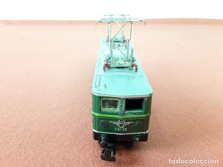 Trenes Escala: LOCOMOTORA ELÉCTRICA AUSTRÍACA EN METAL. 1141. REF 3036. MARKLIN. ALEMANIA. CIRCA 1970. - Foto 4 - 87427800