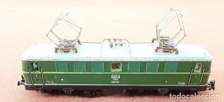Trenes Escala: LOCOMOTORA ELÉCTRICA AUSTRÍACA EN METAL. 1141. REF 3036. MARKLIN. ALEMANIA. CIRCA 1970. - Foto 5 - 87427800