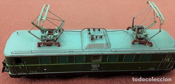 Trenes Escala: LOCOMOTORA ELÉCTRICA AUSTRÍACA EN METAL. 1141. REF 3036. MARKLIN. ALEMANIA. CIRCA 1970. - Foto 7 - 87427800