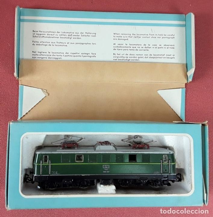 Trenes Escala: LOCOMOTORA ELÉCTRICA AUSTRÍACA EN METAL. 1141. REF 3036. MARKLIN. ALEMANIA. CIRCA 1970. - Foto 10 - 87427800
