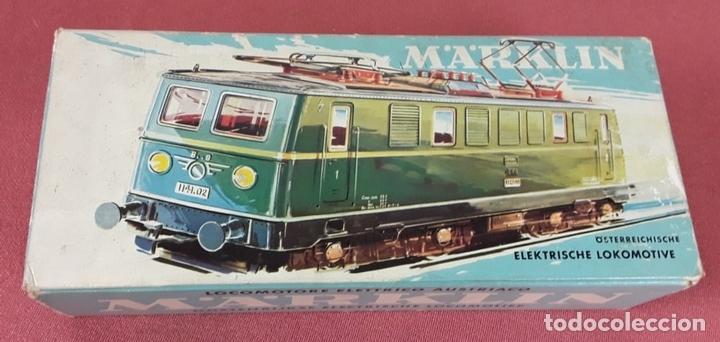 Trenes Escala: LOCOMOTORA ELÉCTRICA AUSTRÍACA EN METAL. 1141. REF 3036. MARKLIN. ALEMANIA. CIRCA 1970. - Foto 11 - 87427800