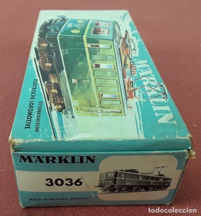 Trenes Escala: LOCOMOTORA ELÉCTRICA AUSTRÍACA EN METAL. 1141. REF 3036. MARKLIN. ALEMANIA. CIRCA 1970. - Foto 12 - 87427800