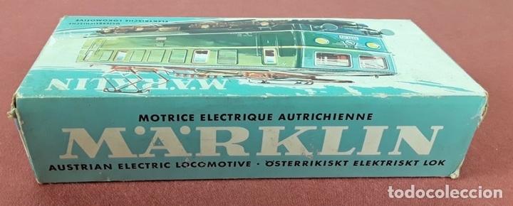 Trenes Escala: LOCOMOTORA ELÉCTRICA AUSTRÍACA EN METAL. 1141. REF 3036. MARKLIN. ALEMANIA. CIRCA 1970. - Foto 13 - 87427800