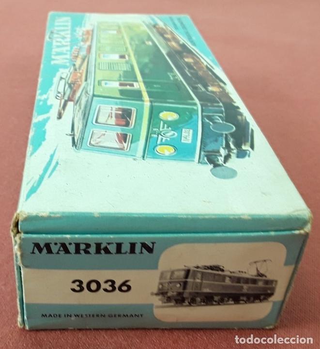 Trenes Escala: LOCOMOTORA ELÉCTRICA AUSTRÍACA EN METAL. 1141. REF 3036. MARKLIN. ALEMANIA. CIRCA 1970. - Foto 14 - 87427800