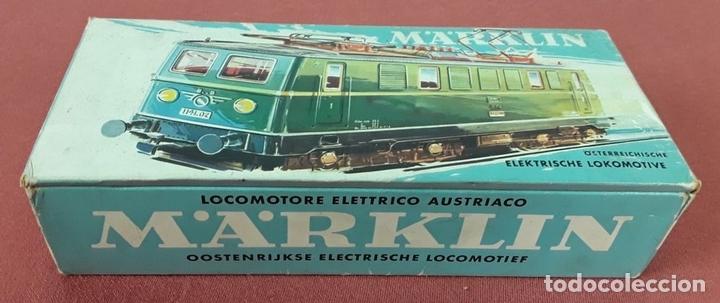 Trenes Escala: LOCOMOTORA ELÉCTRICA AUSTRÍACA EN METAL. 1141. REF 3036. MARKLIN. ALEMANIA. CIRCA 1970. - Foto 15 - 87427800