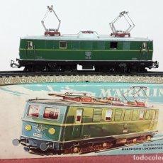 Trenes Escala: LOCOMOTORA ELÉCTRICA AUSTRÍACA EN METAL. 1141. REF 3036. MARKLIN. ALEMANIA. CIRCA 1970.. Lote 87427800