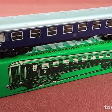 Trenes Escala: VAGÓN EXPRESS EN METAL. REF 4027. ESC H0. MARKLIN. ALEMANIA. CIRCA 1960.. Lote 87490228