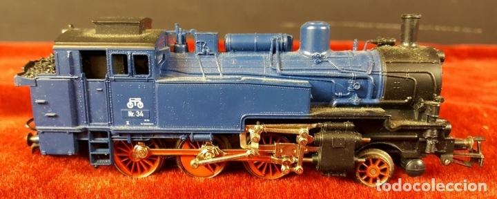 Trenes Escala: TREN ELECTRICO MARKLIN. MODELO 29175. ESCALA H0. COMPETO. CIRCA 1970. - Foto 4 - 88523392