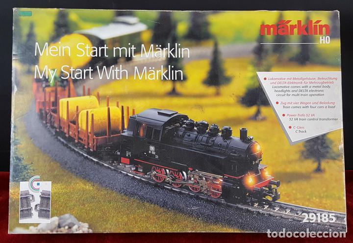 TREN MARKLIN. MODELO 29185. ESCALA H0. COMPLETO. CIRCA 1970. (Juguetes - Trenes a Escala - Marklin H0)