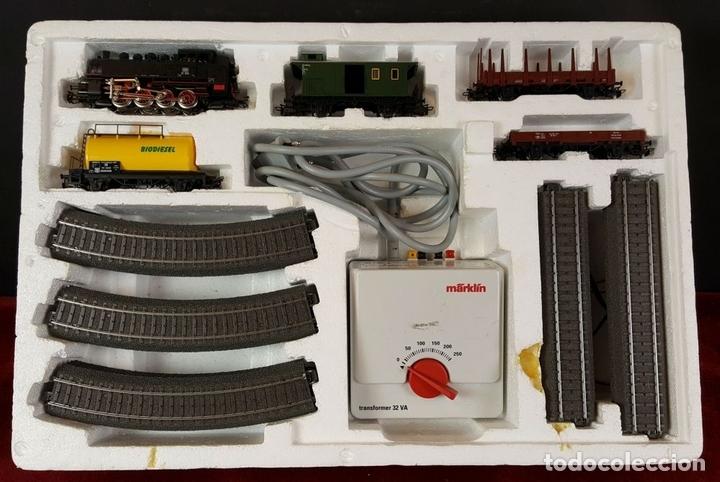 Trenes Escala: TREN MARKLIN. MODELO 29185. ESCALA H0. COMPLETO. CIRCA 1970. - Foto 2 - 88565720