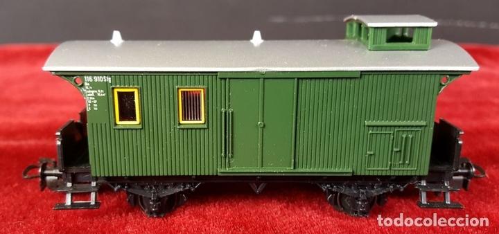 Trenes Escala: TREN MARKLIN. MODELO 29185. ESCALA H0. COMPLETO. CIRCA 1970. - Foto 3 - 88565720