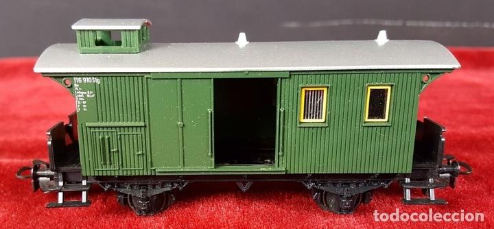 Trenes Escala: TREN MARKLIN. MODELO 29185. ESCALA H0. COMPLETO. CIRCA 1970. - Foto 4 - 88565720