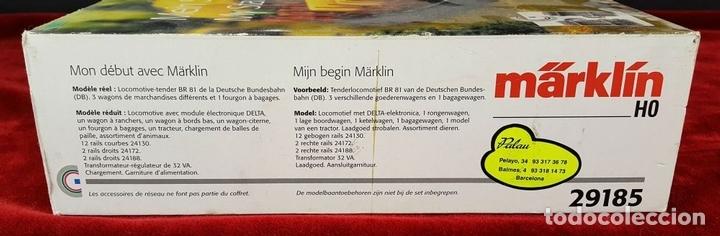 Trenes Escala: TREN MARKLIN. MODELO 29185. ESCALA H0. COMPLETO. CIRCA 1970. - Foto 17 - 88565720