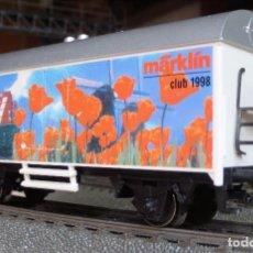 Trenes Escala: VAGON FRIGORIFICO SERIE LIMITADA CLUB MÄRKLIN 1998. Lote 91005000
