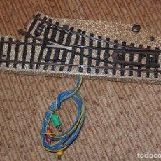 Trenes Escala: DESVÍO ELÉCTRICO DE MARKLIN,HO,AÑOS 60. Lote 91143840